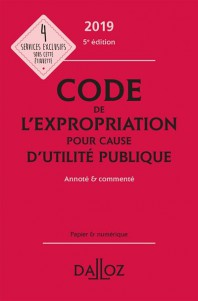 CODE DE L'EXPROPRIATION